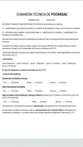 criterios de seleccion cto de Europa y mundial 2016