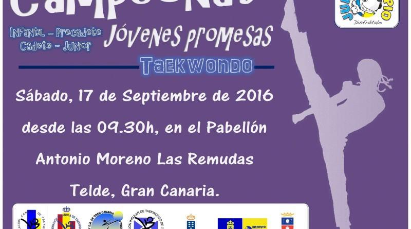 CAMPEONATO JOVENES PROMESAS (PRECADETES, CADETES Y JUNIOR)