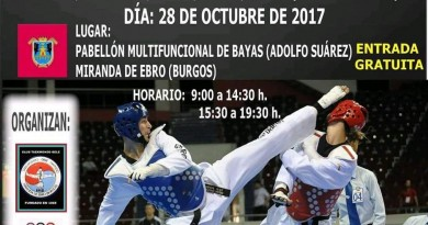 XXXII OPEN NACIONAL DE TAEKWNDO CIUDAD DE MIRANDA DE EBRO