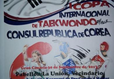 1º COPA DE TAEKWONDO CONSUL REPUBLICA DE COREA