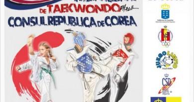 1ª COPA INTERNACIONAL DE TAEKWONDO CONSUL REPUBLICA DE COREA
