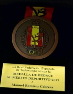Medalla Manolito